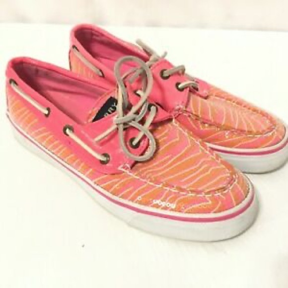 Sperry Shoes | S Top Sider Pink Boat
